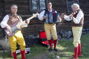 Jämmerdalens spelmän, Benny Eriksson, Håkan Persson och Alf Jönsson.