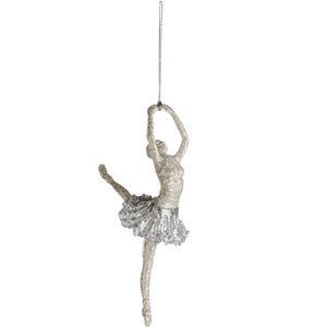 Prima ballerina. Dansande julkula från Åhléns, 49 kronor.