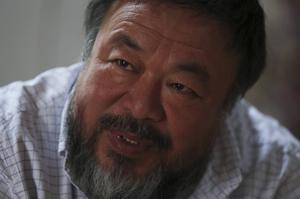 Samvetsambassadör Ai Weiwei.    Foto: TT