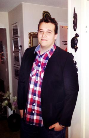 Innan viktresan startade vägde Oscar över 140 kilo.