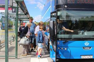 Många pendlar mellan Norrtälje och Stockholm. Foto: Kajsa Althén
