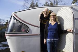 Karl Arne och Anette Lindström ser fram emot ännu en sommar med sin Stilmaster.