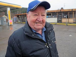 Birger Frisendahl var med när Shellmacken öppnade på Remsle på 1960-talet.