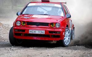 Mikael Lundberg segrade i tvåhjulsdrivna rallyklassen.
