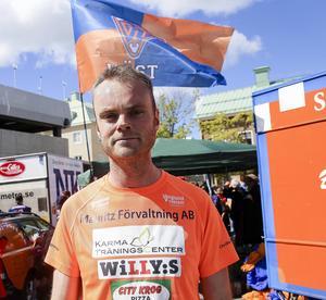 Lars Björklund sprang flest varv även i år.