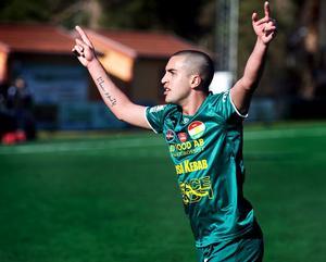 Kurden Brwa Nouri var en symbolspelare under sina fem säsonger i Dalkurd. En dag hoppas mittfältsstjärnan kunna återvända till DFF, men just nu ligger all fokus på Östersunds FK som är ett topplag i allsvenskan och har slutspelschans i Europa League.