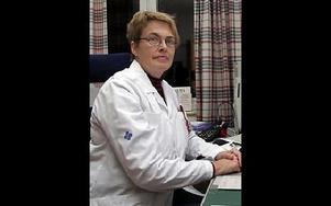 Chefsläkare Annica Lindell Lang, Ludvika, har skrivit Lex Mariaanmälan som sätter fokus på bristen på röntgenberedskap dygnet om på Ludvika lasarett.FOTO: ARKIV