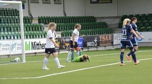 Huge hade en jobbig dag på Norrporten Arena i Sundsvall.
