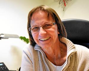 - Nu har jag mer tid att lägga på förebyggande arbete, så att folk inte ska behöva få problem, säger Inger-Kristina Rudenvall, konsumentvägledare.