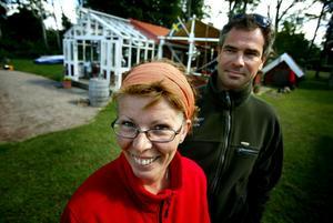 Sabina och Patrick Clérissy vid Sjökrogen i Katrinelund. Arkivbild: Pavel Koubek