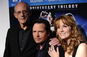 Christopher Lloyd, Michael J Fox och Lea Thompson tillsammans igen när