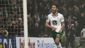 Nahir Besara under sin sista säsong i Hammarby.