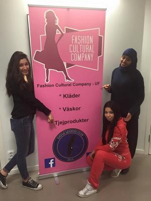 Fashion Culture company blev Årets UF-företag i Gävle.