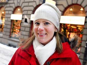 Ann-Sofie Engström, Stockholm:– En timme om dagen, max. Från 19.00 ser jag kulturnyheter, lokala nyheter och rapport, det tar en timme.
