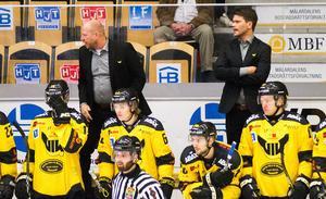Patrik Zetterberg och Thomas Paananen får inte ordning på VIK inledningsvis av säsongen 17/18.