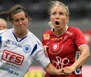 Elin Magnusson blev Kifs enda målskytt i kryss-matchen mot Piteå på onsdagen.