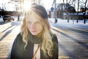 Filmaren Clara Bodén från Östersund.
