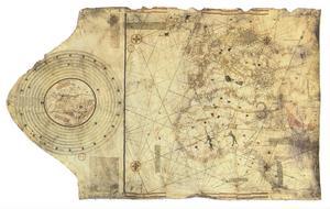 Christofer Columbus sjökort från 1495, en så kallad portolan, finns på franska nationalbiblioteket. Efter upptäckten av Amerika så började många gamla sanningar ifrågasättas.