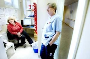 Jane Larsson och Gunni Sennevall på Selggrensgården är besvikna på att Wanja Lundby-Wedin inte avgick som LO:s ordförande.