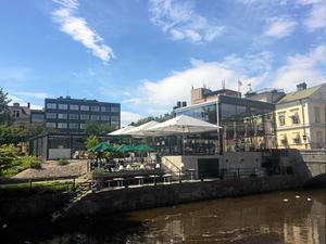 Brasseri Stadsparken, invigt 2014, är en byggnad som många västeråsare haft svårt för.