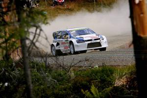 Johan Kristoffersson var överlägsen i Bydalen Up Hill Race och vann den tyngsta SM-klassen båda dagarna.