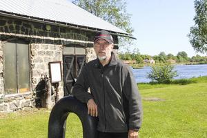 Jan Siljeroth ser fram emot den nya säsongen för Kustslöjdarna i hyttan.