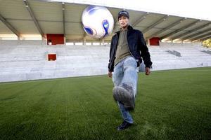 Temesgen Berhane har inte spelat en hel match på flera månader - men kan bli jokern som sänker Syrianska. FOTO: KENNETH HUDD