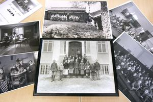 Tällbergs skola firar 100 år. Kulturhuset har tagit fram gamla bilder som kommer användas i undervisningen under veckan.
