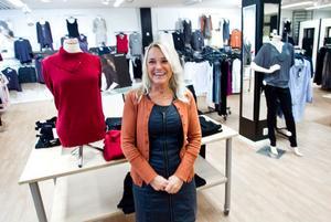 - Positivt med ökad handel och hoppas att det drar hit andra också, säger en glad Christina Olsson i Randiga Rutan.