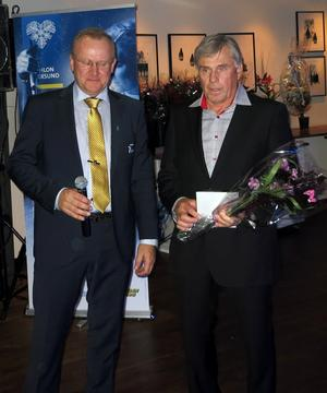 Lars-Göran Arwidsson, Lima,  tog  individuellt OS-brons 1972 . Det kvalificerade honom för Hall of Fame. Han tog även stafettbrons 1968, då var även jämten Olle Petrusson med i laget. Det är Svenska Skidskytteförbundets Ingemar Arwidson (inte släkt) som delar ut utmärkelsen.