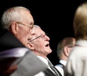 Hur sagolikt det är att sjunga visade PRO Hedesundas kör.