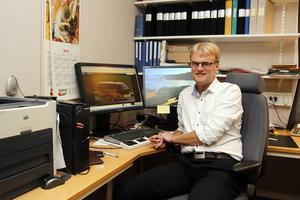 Tomas Byberg är glad över att bussbolaget nu kan vinna det fina Pegasuspriset.