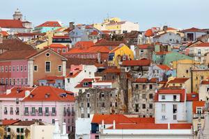 Se Lissabon - och stadens kaféer.