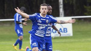 Emil Zoltek gjorde säsongens första mål för Södra.