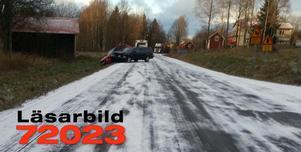 Två bilar krockade vid Änderåsen.