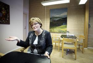 Agneta Enbom Holtz, ordförande för PRO:s samorganisation i Södertälje.