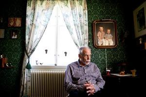 Författaren Bengt Dagrin. Arkivfoto: NA.