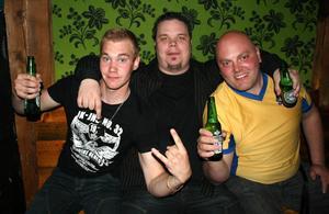 Konrad. Mattias, Keijo och Peter