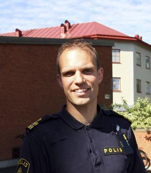 Rickard Eriksson, kriminalkommissarie.