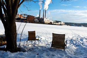 Sean van der Steen ville lyfta fram Sundsvalls industrier via landskapsfotografering.