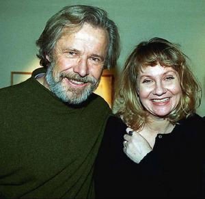 Skådespelarparet Sven Wollter och Viveka Seldahl levde tillsammans i 30 år, här fotograferade 1996.Foto: Jan Andersson