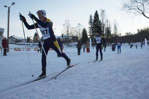 Wilmer Grelsson, Ånge SK, Mikael Grelsson, Ånge SK och Micael Bohm, Delsbo IF, deltog i herrarnas fyramil.