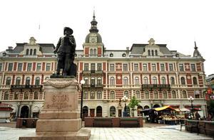Staty av Gustav II Adolf.