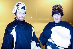 Henrik Rehnvall och Dennis Wasberg.