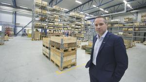Roland Kasper, vd och koncernchef på Systemair. Foto: Robin Högberg