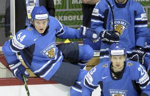 Mikael Granlund (vänster) tillsammans med Sakari Salminen (höger).