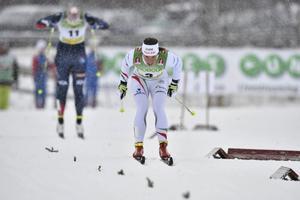 När Charlotte Kalla förra året vann säsongspremiären i Bruksvallarna så snöade det. I år kan värmen stoppa den traditionella premiären. ARKIVBILD   Nisse Schmidt / TT