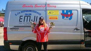 Emmily Smalsjö tog dubbla segrar i helgen.