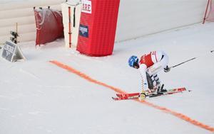 Mattias Hargin gjorde en stark avslutning i Åre.