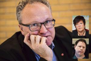 Socialdemokraterna Glenn Nordlund, Birgith Olsson Johansson och Kristoffer Park är alla kritiska till Moderaternas debattnivå.